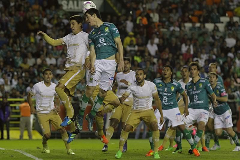 A qué hora juega Pumas vs León en la J13 del Clausura 2016 y en qué canal - horario-pumas-vs-leon-en-la-j13-del-clausura-2016