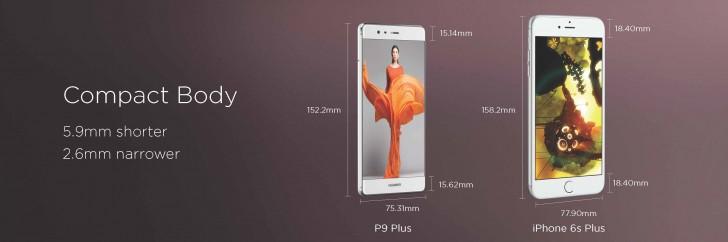 Nuevos Huawei P9 y P9 Plus, los gama alta de la firma china. - huawei-p9-plus