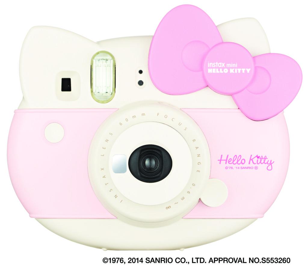 Lanzan nuevas cámaras Instax de FUJIFILM: Mini Hello Kitty y Mini 70 - instax-mini-hello-kitty-1