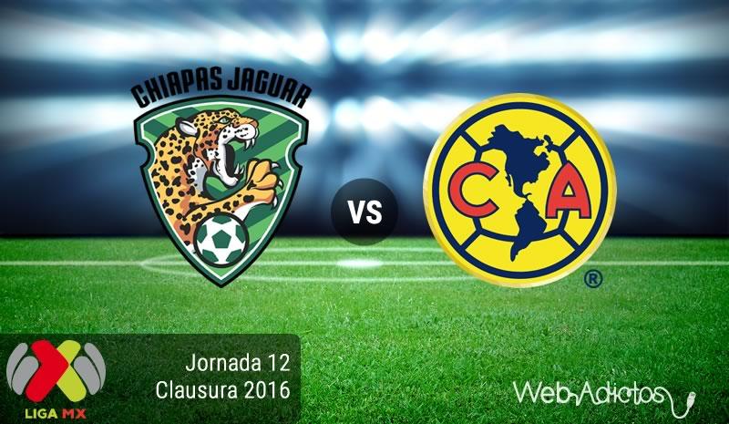 Jaguares vs América en el Torneo Clausura 2016 | Resultado: 0-2 - jaguares-vs-america-jornada-12-del-clausura-2016