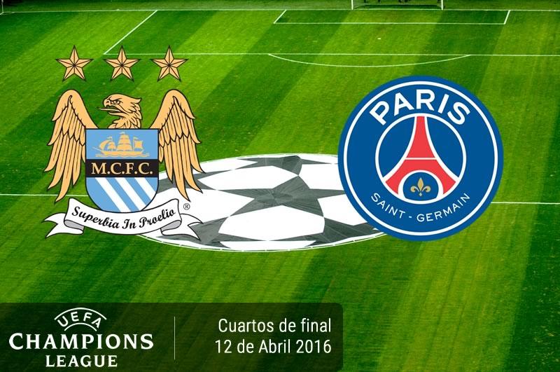 Manchester City vs PSG, Champions League 2016 | Resultado: 1-0 - manchester-city-vs-psg-en-champions-league-2015-2016