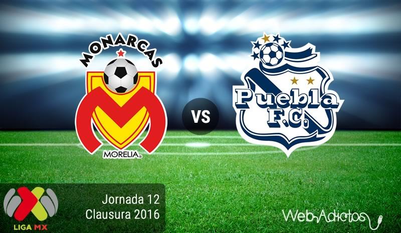 Morelia vs Puebla, Fecha 12 del Clausura 2016   Resultado: 2-0 - monarcas-morelia-vs-puebla-jornada-12-del-clausura-2016