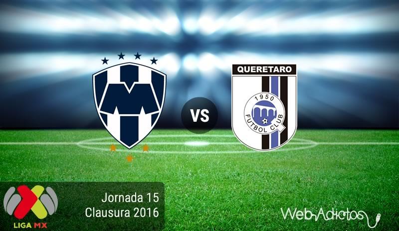 Monterrey vs Querétaro, J15 del Clausura 2016 | Resultado: 3-2 - monterrey-vs-queretaro-jornada-15-del-clausura-2016