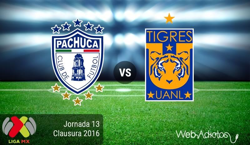 Pachuca vs Tigres en el Clausura 2016 | Resultado: 2-1 - pachuca-vs-tigres-jornada-13-del-clausura-2016