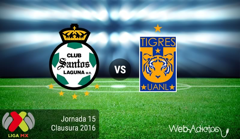Santos vs Tigres, Jornada 15 del Clausura 2016 | Resultado: 2-1 - santos-vs-tigres-jornada-15-del-clausura-2016