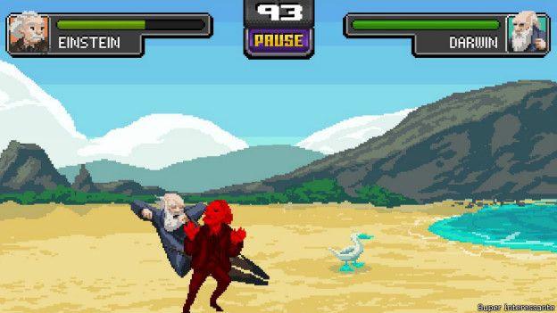 Lanzan 'Science Kombat', el videojuego donde los genios combaten - science-kombat-2