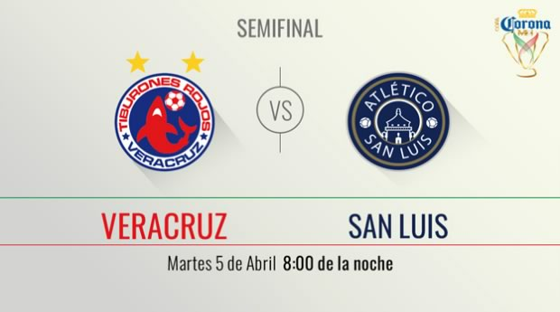 Veracruz vs San Luis, Semifinal de Copa MX C2016 | Resultado: 3-1 - semifinal-veracruz-vs-san-luis-copa-mx-clausura-2016