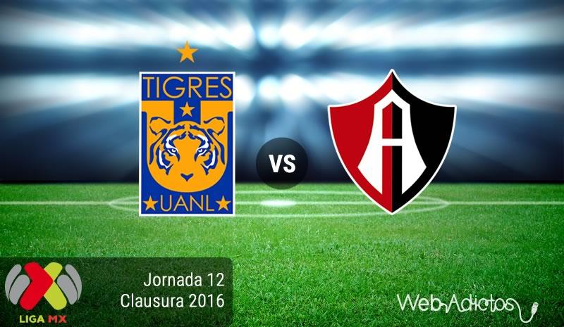 Tigres vs Atlas, Jornada 12 del Clausura 2016 | Resultado: 2-2 - tigres-vs-atlas-jornada-12-del-clausura-2016