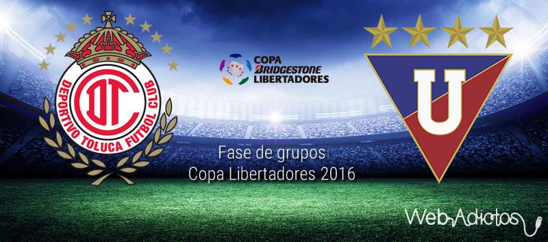 Toluca vs LDU Quito, Copa Libertadores 2016 | Resultado: 2-1 - toluca-vs-ldu-quito-en-copa-libertadores-2016
