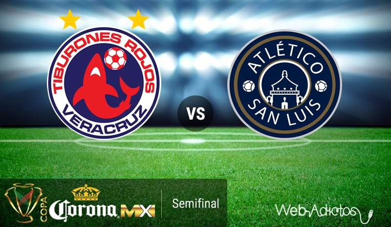 Veracruz vs San Luis, Semifinal de Copa MX C2016 | Resultado: 3-1 - veracruz-vs-san-luis-semifinal-copa-mx-clausura-2016