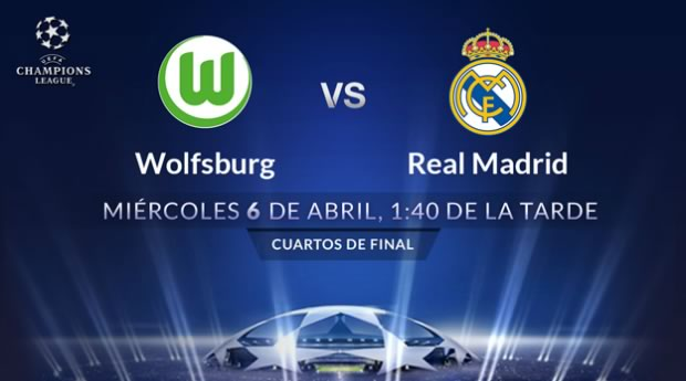 Wolfsburg vs Real Madrid, Champions League 2016 | Resultado: 2-0 - wolfsburg-vs-real-madrid-por-televisa-deportes-champions-league-2016