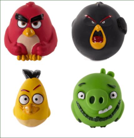 Conoce la nueva colección de juguetes de Angry Birds - angry-birds-de-vinil