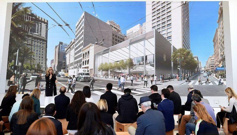 Apple rediseña su icónica Apple Store de San Francisco - app-store-san-francisco-angela-800x457