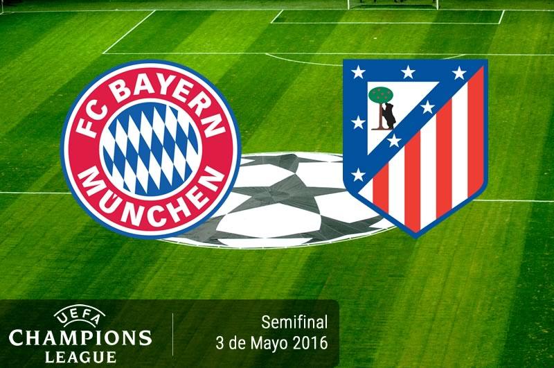 Bayern Munich vs Atlético de Madrid, Semifinal Champions 2016 | Resultado: 2-1 - bayern-munich-vs-atletico-de-madrid-semifinal-champions-league-2016