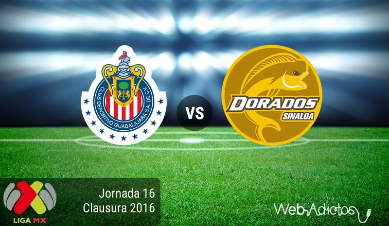Chivas vs Dorados, J16 del Clausura 2016 | Resultado: 2-1 - chivas-vs-dorados-jornada-16-del-clausura-2016