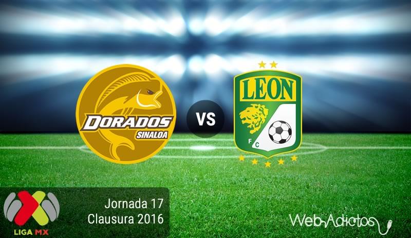 Dorados vs León, Jornada 17 del Clausura 2016 | Resultado: 0-1 - dorados-vs-leon-jornada-17-del-clausura-2016