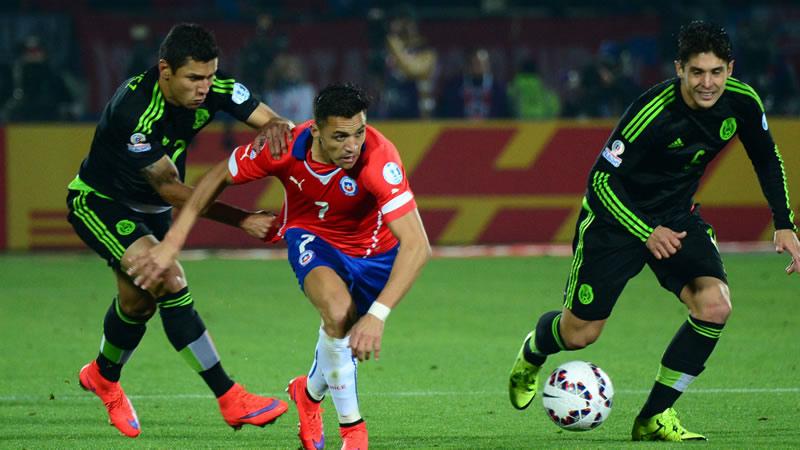 A qué hora juega México vs Chile 2016 y en qué canal de tv se transmite - horario-mexico-vs-chile-2016-amistoso