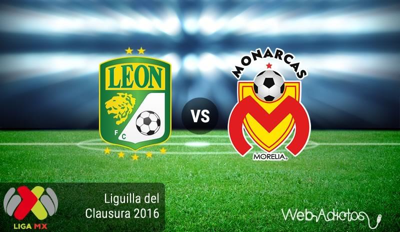 León vs Morelia , Liguilla del Clausura 2016 | Resultado: 4-1 - leon-vs-morelia-liguilla-clausura-2016