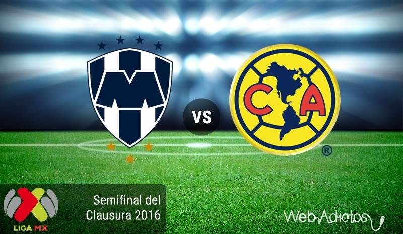 Monterrey vs América, Semifinal Clausura 2016   Resultado: 4-2 - monterrey-vs-america-semifinal-clausura-2016