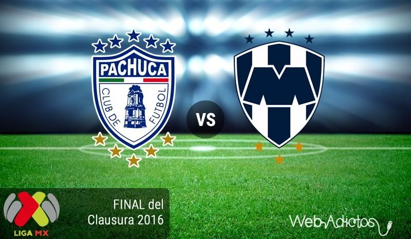 Pachuca vs Monterrey, Ida de la Final del Clausura 2016 | Resultado: 1-0 - pachuca-vs-monterrey-final-del-clausura-2016