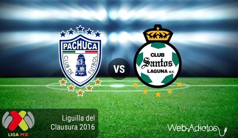 Pachuca vs Santos, Cuartos de final Clausura 2016 | Resultado: 3-2 - pachuca-vs-santos-liguilla-clausura-2016