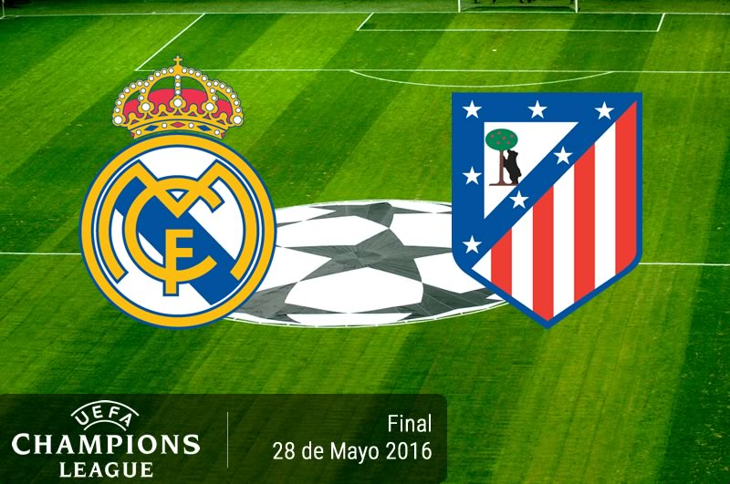 Real Madrid vs Atlético de Madrid, Final Champions 2016 | Resultado: 1-1 - real-madrid-vs-atletico-de-madrid-final-champions-league-2016