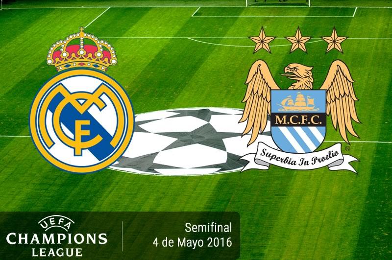 Real Madrid vs Manchester City, Semifinal Champions League 2016 | Resultado: 1-0 - real-madrid-vs-manchester-city-semifinal-champions-league-2016