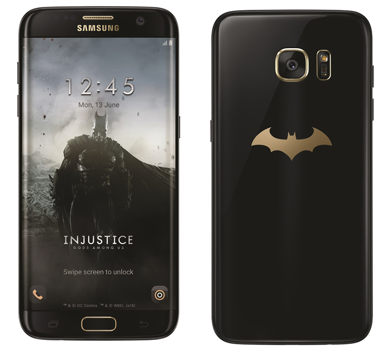 Galaxy S7 edge Injustice Edition ya tiene fecha de llegada a México ¡Entérate! - samsung-galaxy-s7-edge-injustice-edition