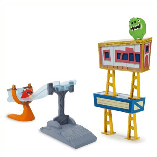 Conoce la nueva colección de juguetes de Angry Birds - set-lanzador