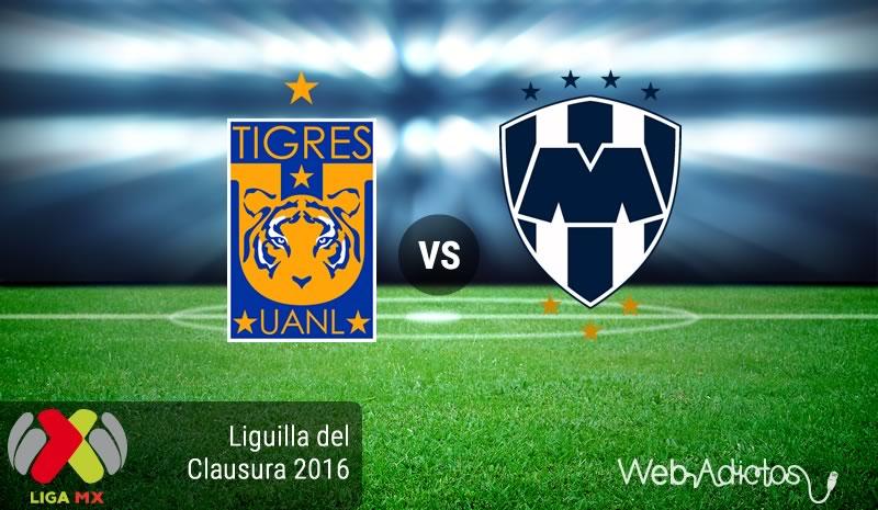 Tigres vs Monterrey, Liguilla del Clausura 2016 | Resultado: 1-3 - tigres-vs-monterrey-liguilla-del-clausura-2016