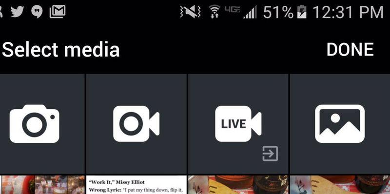 Twitter para Android añade botón para poder transmitir vía Periscope - twitter-periscope-integracion