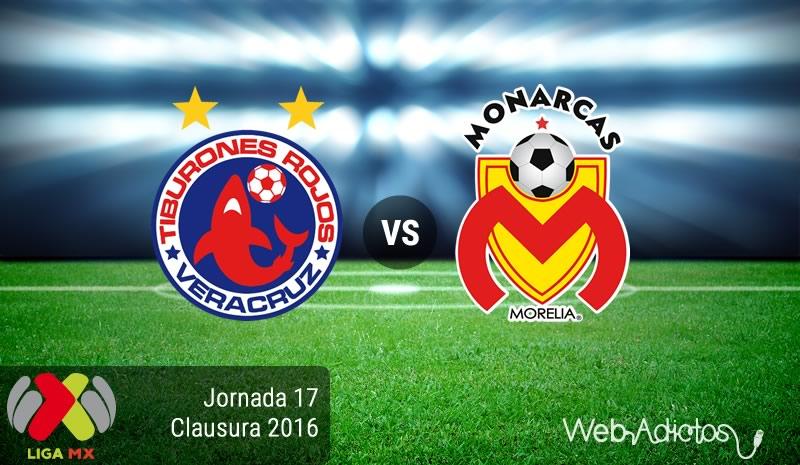 Veracruz vs Morelia, Jornada 17 del Clausura 2016 | Resultado: 1-2 - veracruz-vs-morelia-jornada-17-del-clausura-2016