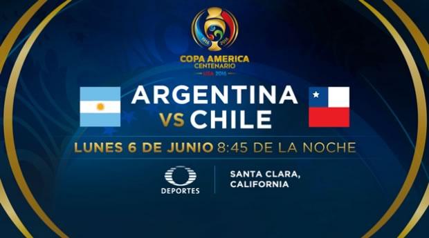 Argentina vs Chile, Copa América 2016 | Resultado: 2-1 - argentina-vs-chile-copa-america-2016-televisa-deportes