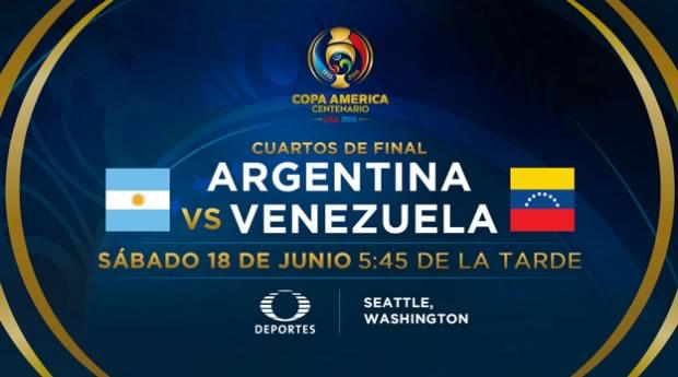 Argentina vs Venezuela, Copa América Centenario | Resultado: 4-1 - argentina-vs-venezuela-en-vivo-copa-america-2016