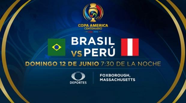 Brasil vs Perú, Copa América Centenario | Resultado: 0-1 - brasil-vs-peru-televisa-deportes-copa-america-2016