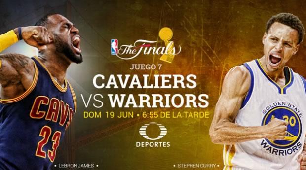 Cavaliers vs Warriors, Juego 7 NBA Finals 2016 - cavaliers-vs-warriors-en-vivo-juego-7-nba-finals-2016