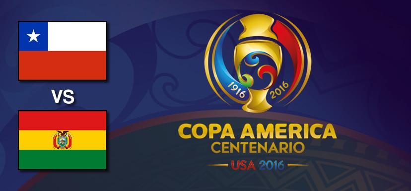 Chile vs Bolivia, Copa América Centenario | Resultado: 2-1 - chile-vs-bolivia-copa-america-centenario-2016