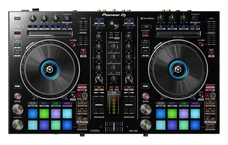Nuevos controladores Pioneer para DJ, compatibles con Rekordbox DJ - controlador-pioneer-ddj-rr-02-800x509