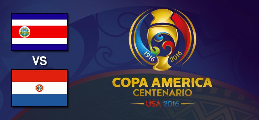 Costa Rica vs Paraguay, Copa América 2016 | Resultado: 0-0 - costa-rica-vs-paraguay-copa-america-2016
