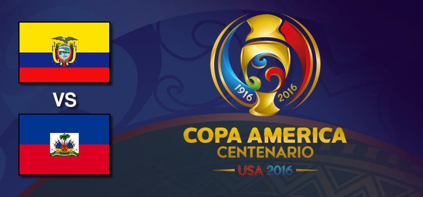 Ecuador vs Haití, Copa América Centenario   Resultado: 4-0 - ecuador-vs-haiti-copa-america-centenario-2016