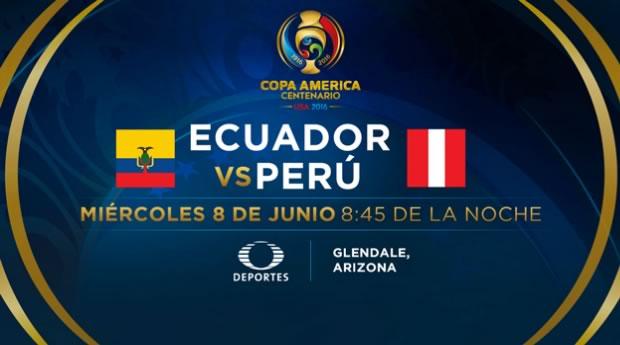 Ecuador vs Perú, Copa América Centenario 2016 | Resultado: 2-2 - ecuador-vs-peru-copa-america-2016-televisa-deportes