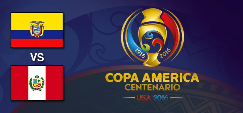 Ecuador vs Perú, Copa América Centenario 2016 | Resultado: 2-2 - ecuador-vs-peru-copa-america-centenario-2016