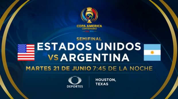 Estados Unidos vs Argentina, Copa América 2016 | Resultado: 0-4 - estados-unidos-vs-argentina-en-vivo-copa-america-2016