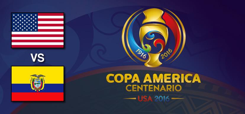 Estados Unidos vs Ecuador, Copa América 2016 | Resultado: 2-1 - estados-unidos-vs-ecuador-copa-america-centenario-2016
