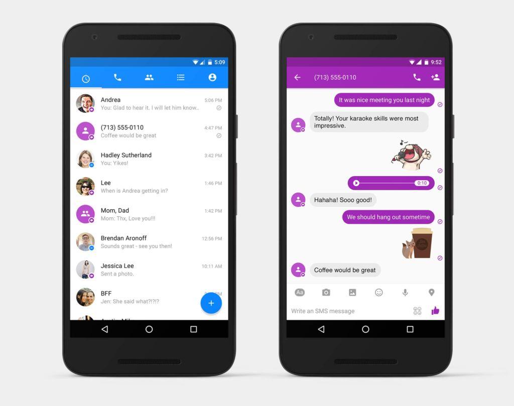 Facebook Messenger añade soporte para SMS en Android - facebook-messenger-1