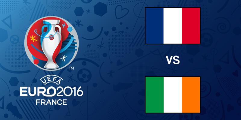 Francia vs Irlanda, Octavos de la EURO 2016   Resultado: 2-1 - francia-vs-irlanda-eurocopa-2016