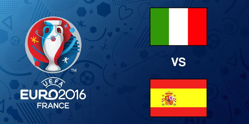 Italia vs España, Octavos de la EURO 2016   Resultado: 2-0 - italia-vs-espana-eurocopa-2016