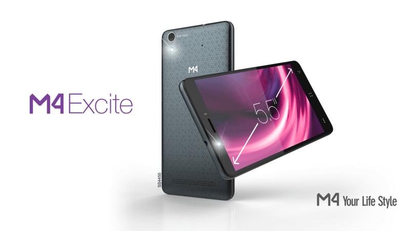 Lanzamiento del M4 Excite: integra tecnología, desempeño y velocidad - m4excite-smartphone