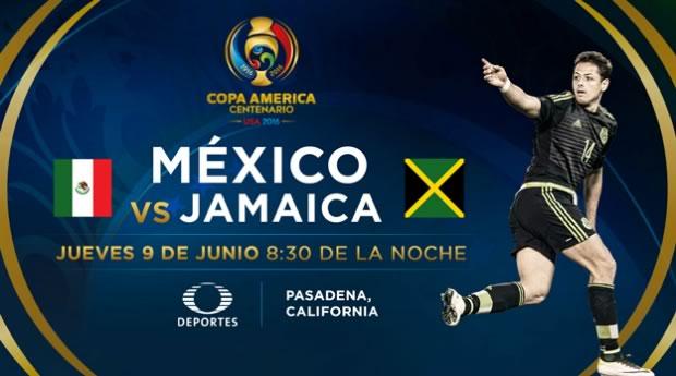 México vs Jamaica, Copa América Centenario   Resultado: 2-0 - mexico-vs-jamaica-por-televisa-deportes-copa-america-2016