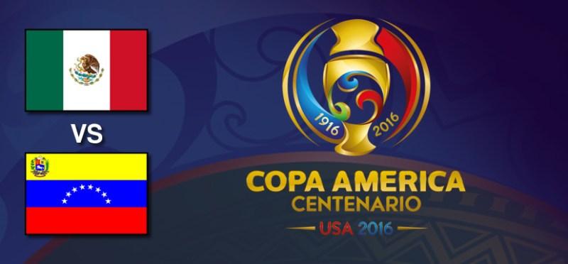 México vs Venezuela, Copa América Centenario   Resultado: 1-1 - mexico-vs-venezuela-copa-america-centenario-2016